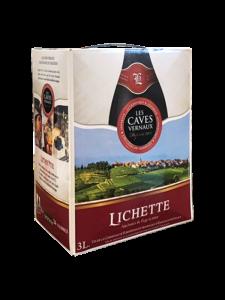 Rượu Vang Bịch Pháp Lichette Vce Rouge