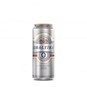 Bia Nga Baltika 0% Premium Lager Thùng 24 Lon