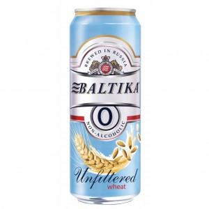 Bia Nga Baltika 0% Unifiltered Wheat Thùng 24 Lon