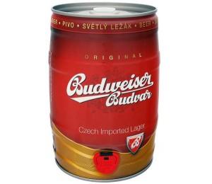 Bia Tiệp Budweiser Budvar Vàng 5L Thùng 2 Bom