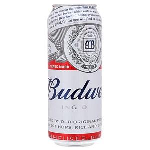 Bia Mỹ Budweiser 500ml Thùng 12 Lon