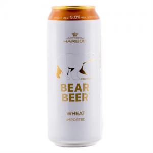 Bia Đức Gấu Bear Beer Wheat 5% Thùng 24 Lon