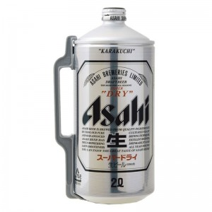 Bia Nhật Asahi Thùng 6 Bình 2L
