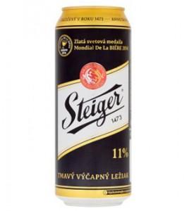 Bia Tiệp Steiger Đen Thùng 24 Lon