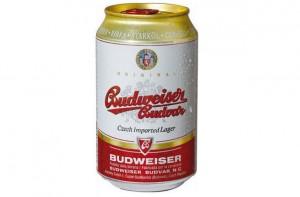 Bia Tiệp Budweiser Budvar Vàng 330ml Thùng 24 Lon