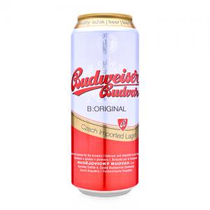 Bia Tiệp Budweiser Budvar Vàng Thùng 24 Lon