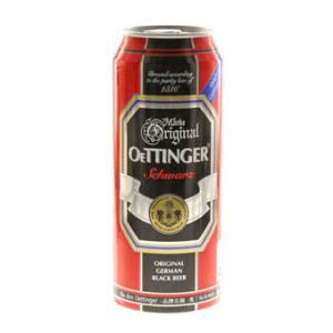 Bia Đức Oettinger Đen 4,9% Thùng 24 Chai