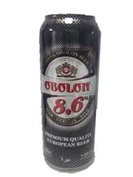 Bia Ukraina Obolon 8,6% Thùng 24 Lon