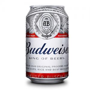 Bia Mỹ Budweiser 330ml Thùng 24 Lon