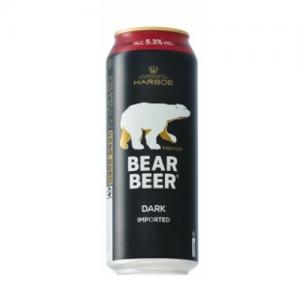 Bia Đức Gấu Bear Beer Dark Imported Đức 5.3% Thùng 24 Lon