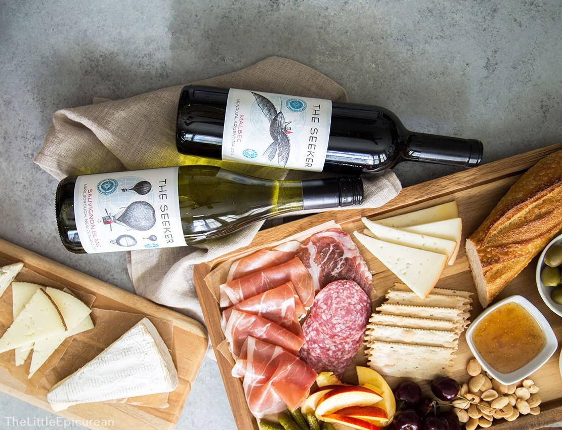 Meat and Cheese Board and Wine Pairing The Little Epicurean