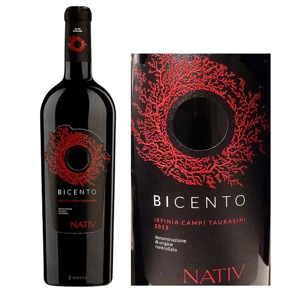 Rượu vang Bicento Irpinia Campi Taurasini 1