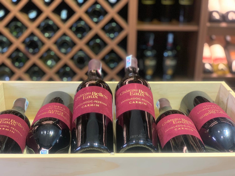 Rượu vang Pháp Carmin
