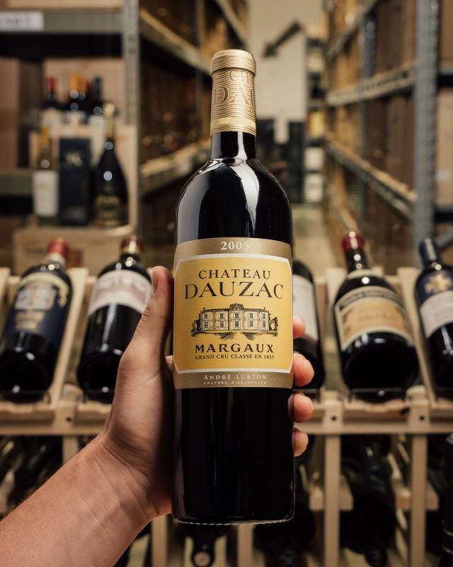 First Bottle Chateau Dauzac Margaux 2005 product image alt 864 medium